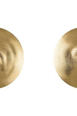 מדבקות סקסיות לפטמות קונוס זהב לשימוש רב פעמי A753